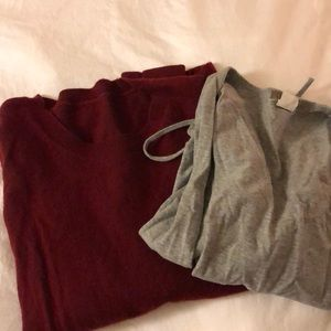 J. Crew sweater and blouse bundle